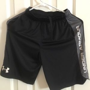 Boys Gently Used Under Armour Shorts